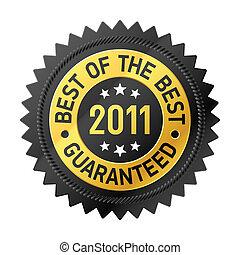 Best Of The Best 2011 label illustration