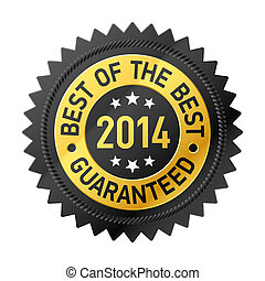 Best of the Best 2014 label