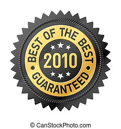 Best Of The Best label - Vector illustration of Best Of The...