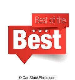 Best of the Best label vector