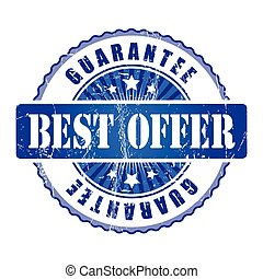 Best Offer  Guarantee Stamp.
