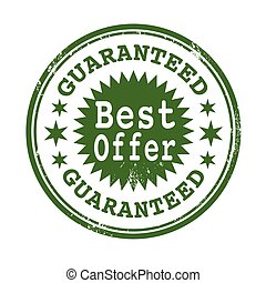best offer guaranteed stamp