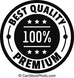 Best offer logo icon, simple style.