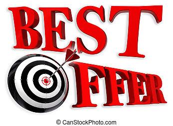 best offer red logo