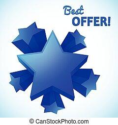 Best offer set of stars