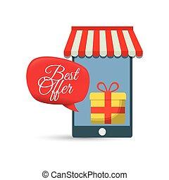 best offer smartphone online gift