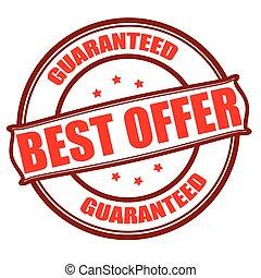 Best offer