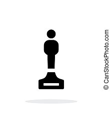 Best person simple icon on white background. Vector...