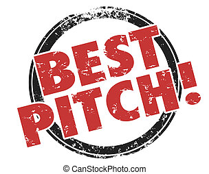 Best Pitch Convincing Sales Presentation Persuasive Proposal