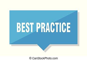 best practice price tag
