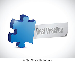 best practice puzzle illustration design
