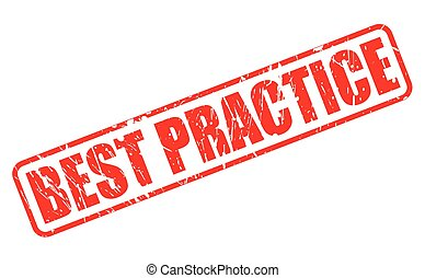 BEST PRACTICE RED STAMP TEXT
