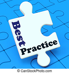 Best Practice Shows Effective Concept Improving Business -...