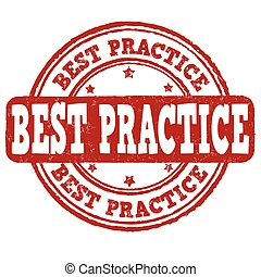 Best practice stamp - Best practice grunge rubber stamp on...