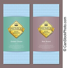 Best Premium Brand Quality and Golden Choice Cards