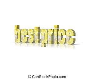 best price 3d word