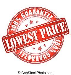 Best Price anniversary stamp.
