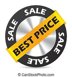 Best price badge design