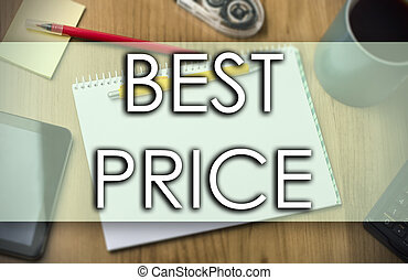 BEST PRICE -  business concept with text