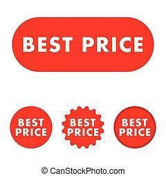 Best price button