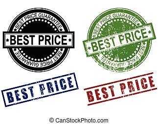 Best Price grunge sign rubber stamp
