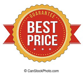 Best price guarantee badge
