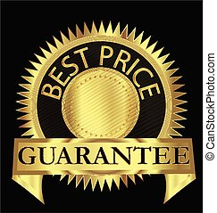 Best price guarantee gold seal