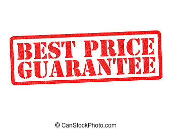 BEST PRICE GUARANTEE Rubber stamp over a white background.