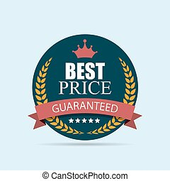 Best Price Label Illustration