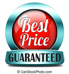 best price label or icon best seller low cost bargain sales...