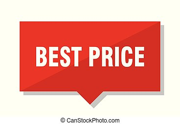best price red tag