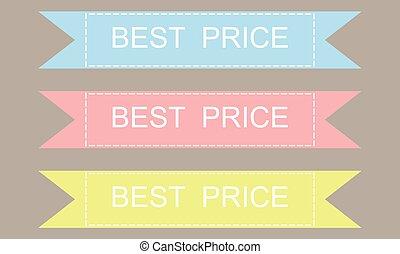 Best price set.