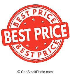 Best price sign or stamp