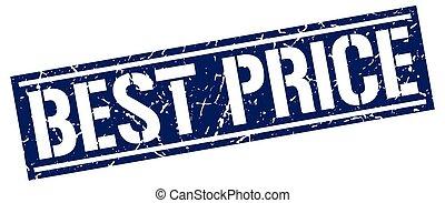best price square grunge stamp