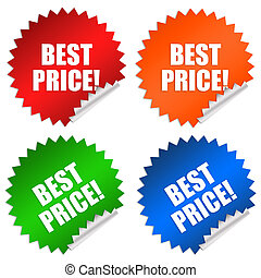 Best price stickers set