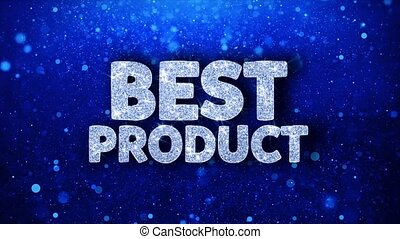 Best Product Blue Text Wishes Particles Greetings,...