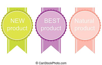 Best Product labels and sticker