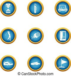 Best punch icons set, flat style - Best punch icons set....