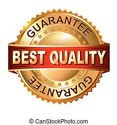 Best Quaiity golden label with ribb