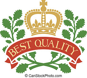 best quality symbol
