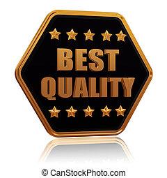 best quality five star hexagon button - best quality - 3d...