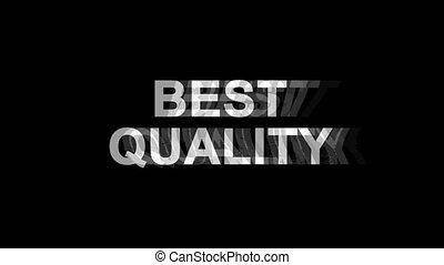 Best Quality Glitch Effect Text Digital TV Distortion 4K...