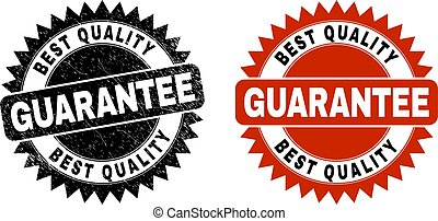 BEST QUALITY GUARANTEE Black Rosette Stamp with Rubber Surface