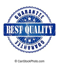 Best Quality Guarantee Stamp.