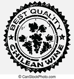 Best quality label for Chilean wine