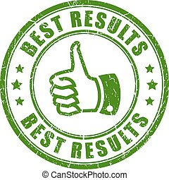 Best results vector stamp