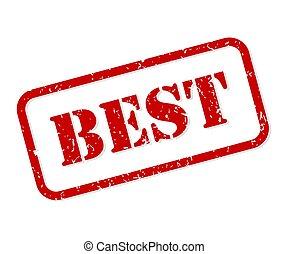 Best Rubber Stamp Vector