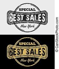 Best Sale Vintage Grunge Logo & Badges