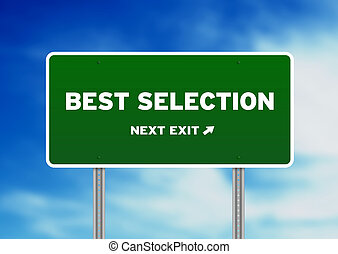 Best Selection Highway Sign
