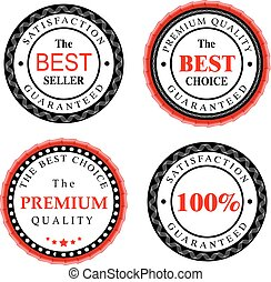Best Seller Badges Design